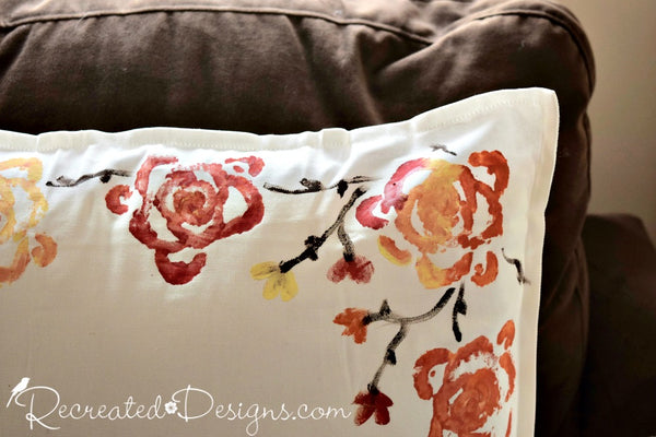 Autumn Pillow Cover Workshop