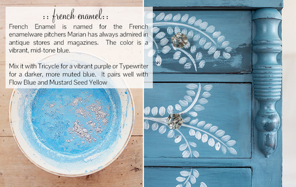 MMS Milk Paint French Enamel