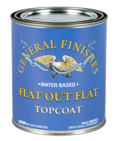 Flat out Flat Water based Topcoat