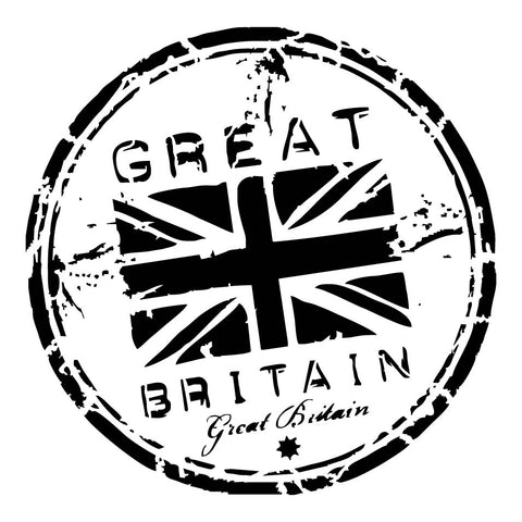 Great Britain Stencil
