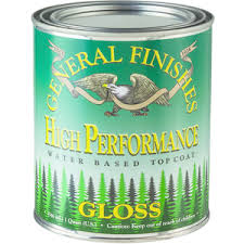 High Performance Polyurethane Water Based Topcoat GLOSS