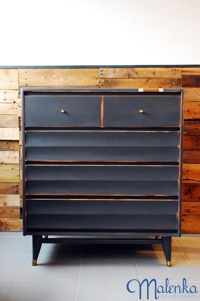 Dresser in Graphite by Malenka Originals.