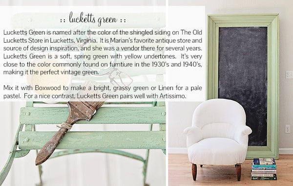 MMS Milk Paint Luckett's Green