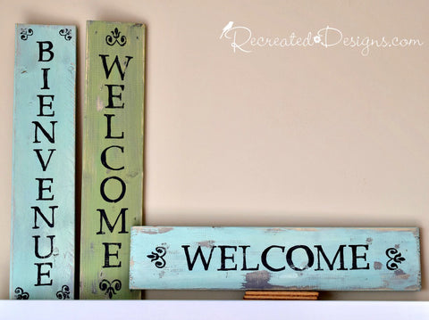 Welcome Sign Workshop