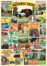 National Parks Paper + Poster Hanging Kit PLUS TWO MORE PAPERS