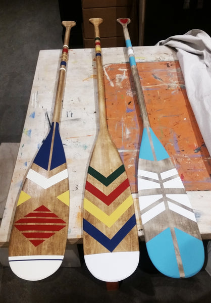 Unfinished Paddles