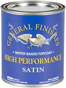 High Performance Polyurethane Water Based Topcoat SATIN