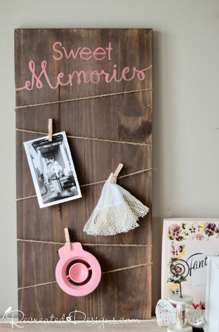 Sweet Memories Photo Board
