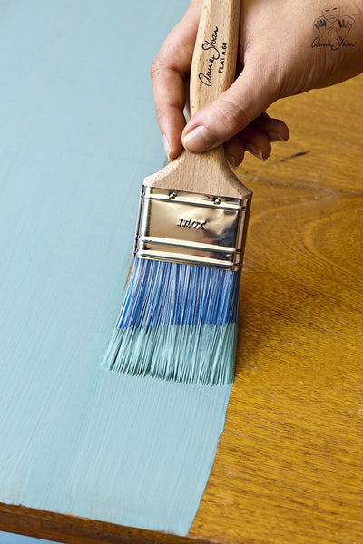 Annie Sloan Flat Blue Brushes