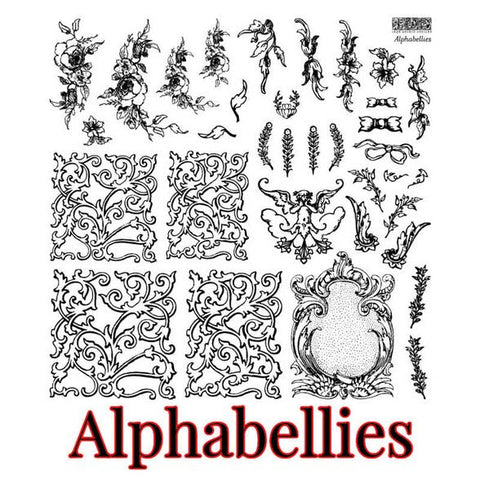PRE ORDER *NEW* Alphabellies Stamp