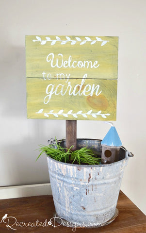 Garden Sign Workshop