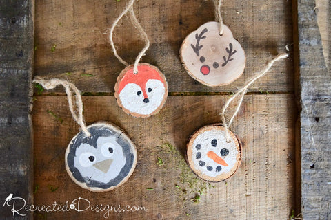 Rustic Ornament and Gift Tag Class