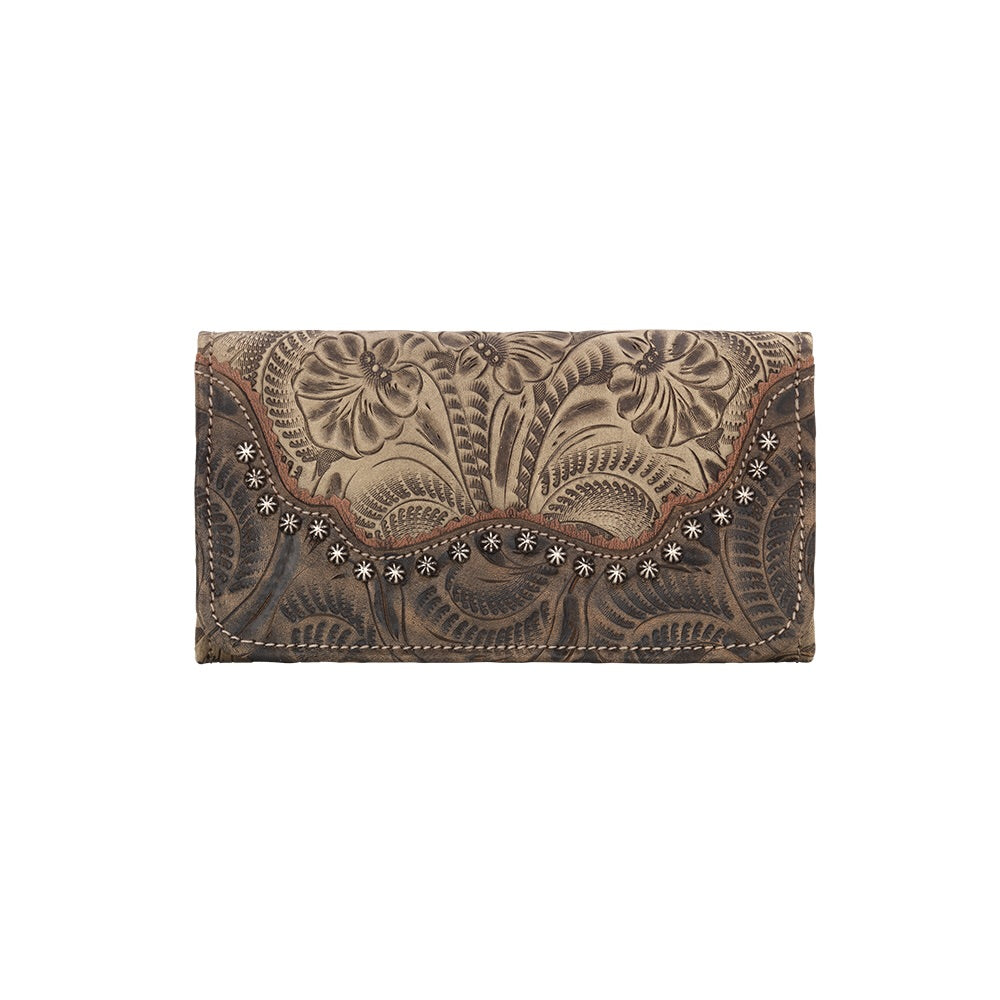 Saddle Ridge Ladies' Tri-fold Wallet