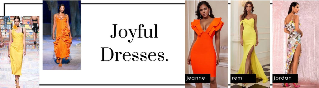 Joyful Dresses in Bright Colours - Dress Trends in 2021 - Micaah