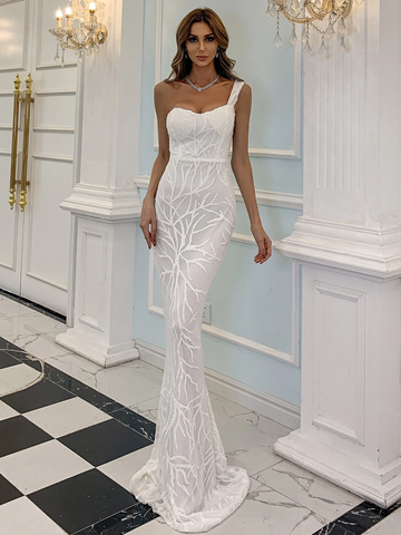 Nicolette White Gown by Micaah