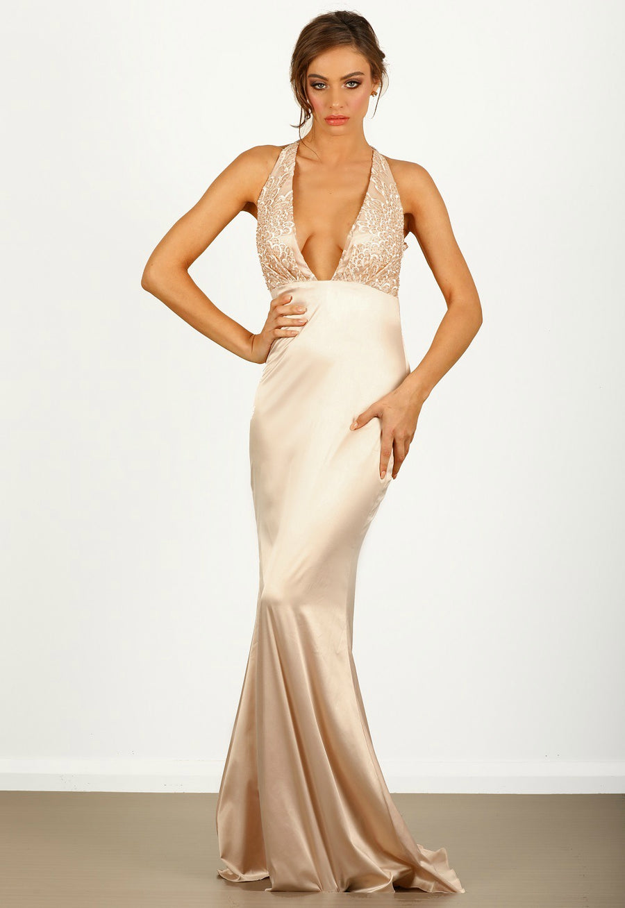 Melody Satin Gown