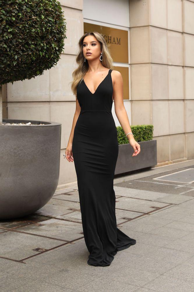Chloe Black Gown