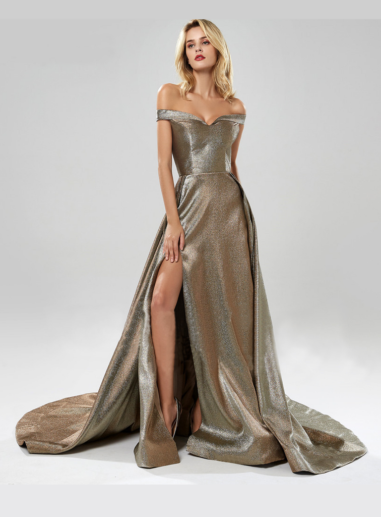Karla Gown - Metallic Gold