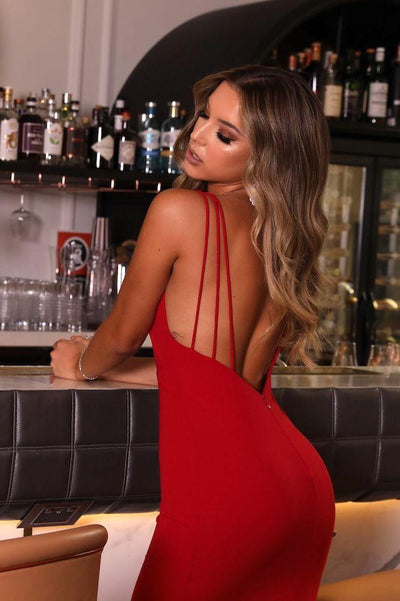 Chloe Red Gown