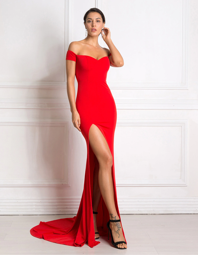 Nikisha Formal Dress - Red