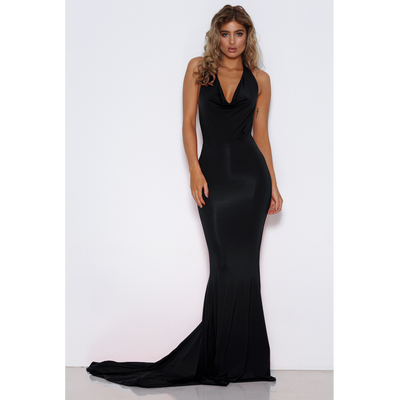 Audrey Black Gown