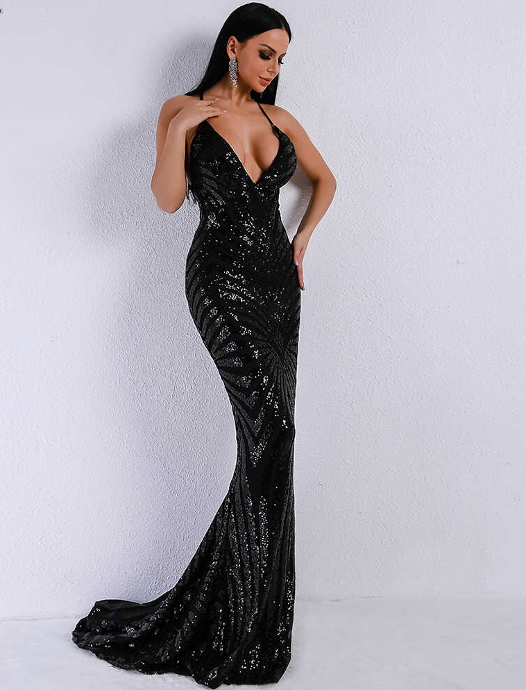 Carolyn Sequins Gown