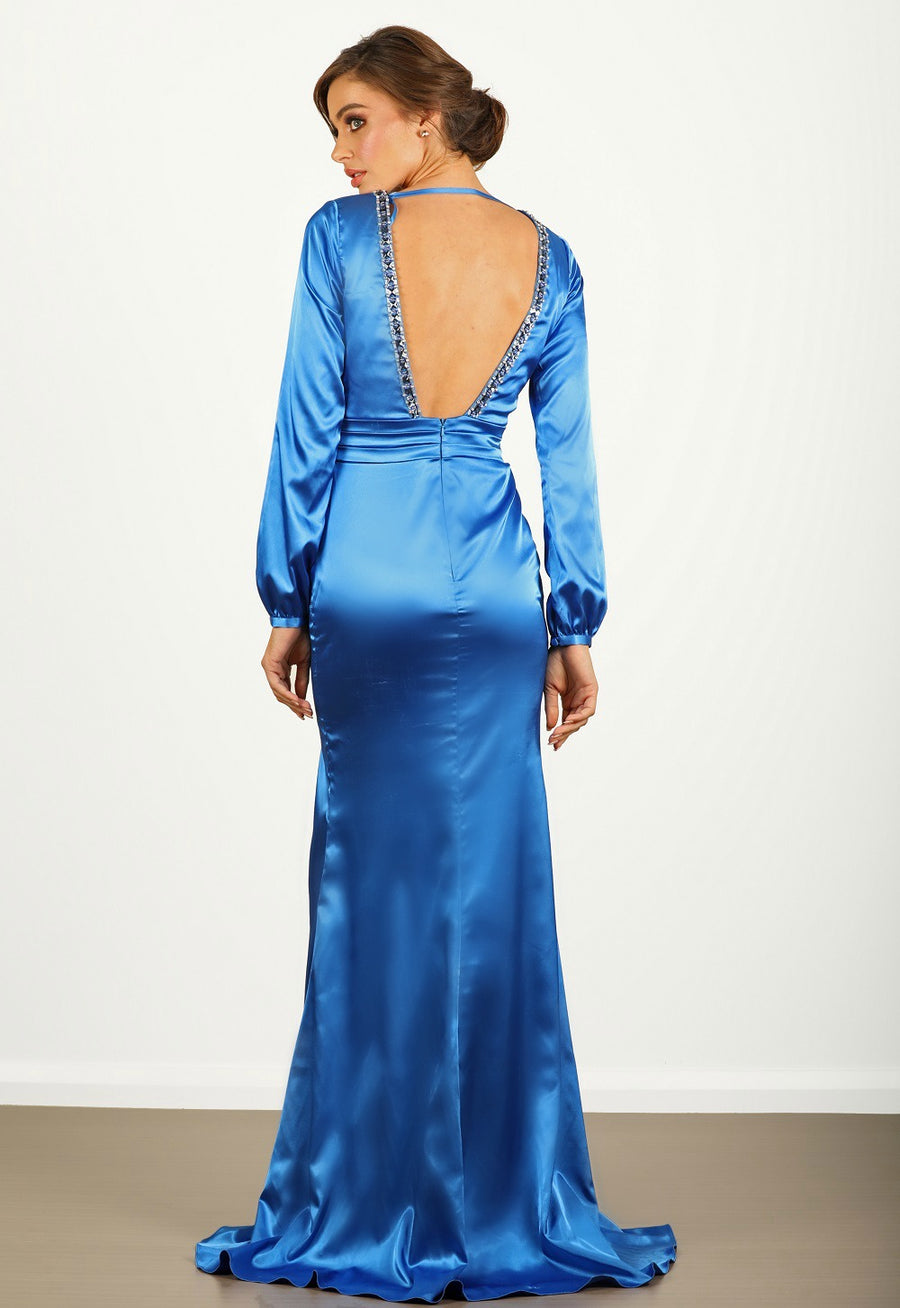 Charliz Satin Gown