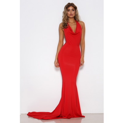 Audrey Red Gown