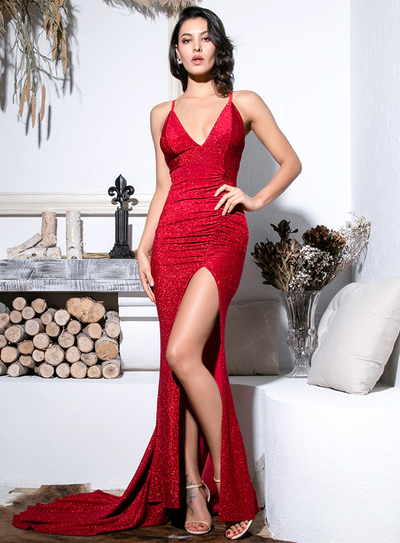 Kourtney Gown - Red
