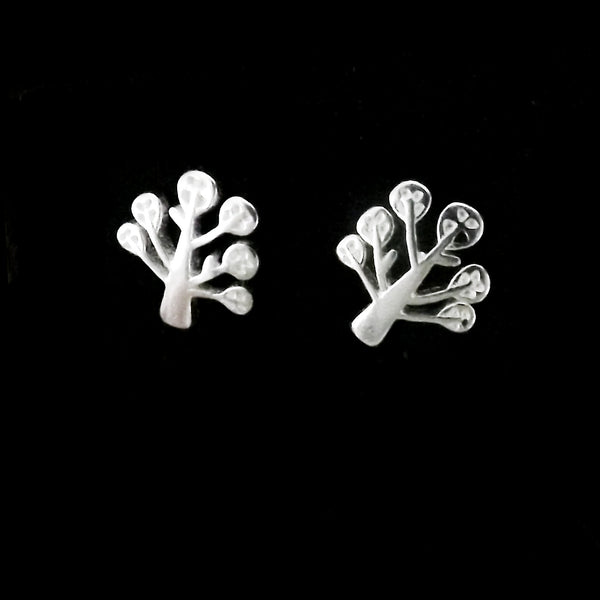 Sterling Silver Tree Studs
