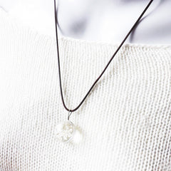 Water Drop Flower Necklace