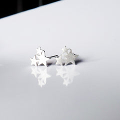 Sterling Silver Consellation Studs
