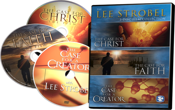 The Lee Strobel DVD Collection (3 Discs in One Package - Case for a Creator, Case for Christ, Case for Faith)