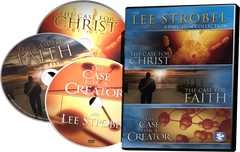 Lee Strobel DVD Collection (3 Discs in One Package - Case for a Creator, Case for Christ, Case for Faith)