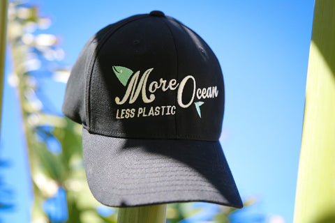 'More Ocean Less Plastic' Fitted Hat