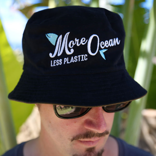'More Ocean Less Plastic' Bucket Hat