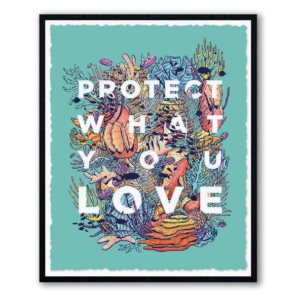 "Eric Vozzola, ""Protect What You Love - The Reef"""
