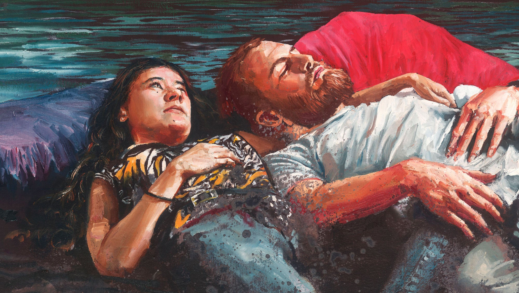 "Fintan Magee, ""The Life Raft"""