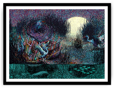 "James Eads, ""Fading, Fleeting, Retreating"""