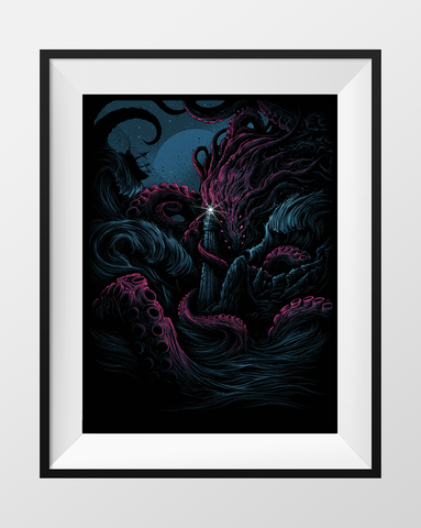 "Dan Mumford, ""The Furthest Depths"""