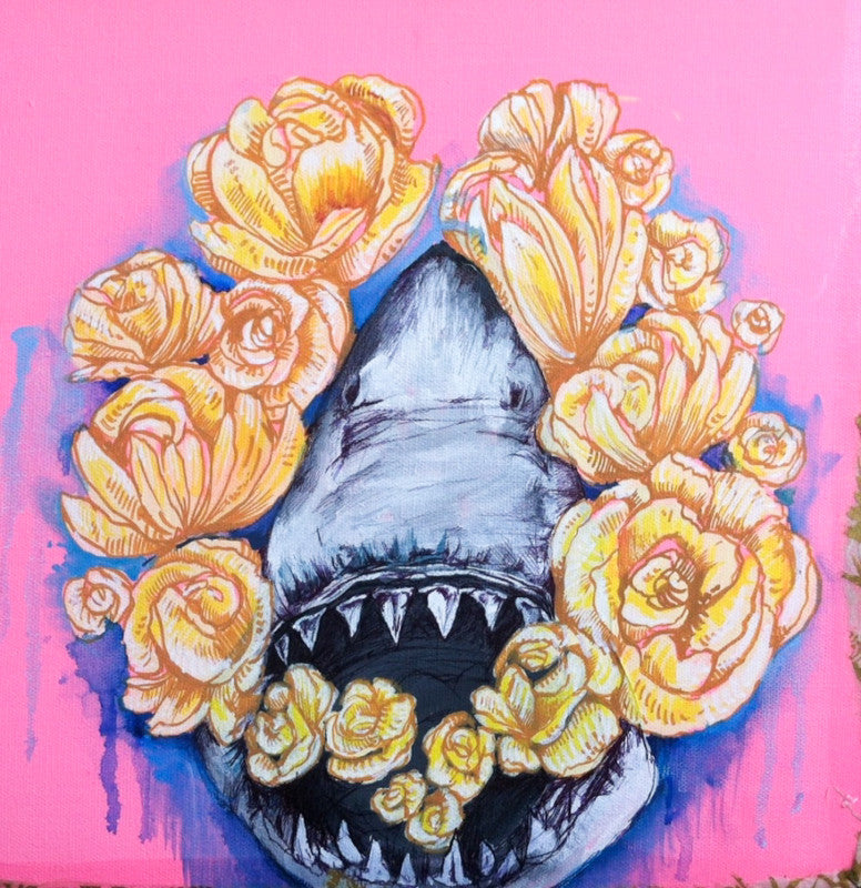 "Lauren Roth, ""Give A Shark A Flower"""