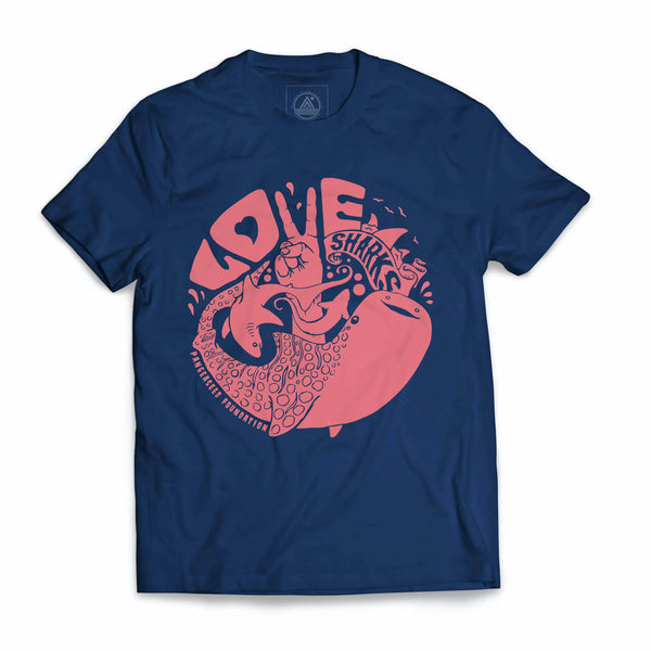 """Love Sharks"" T-Shirt"