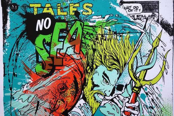 "Meggs, ""Aquaman: No Sea, No Life"""
