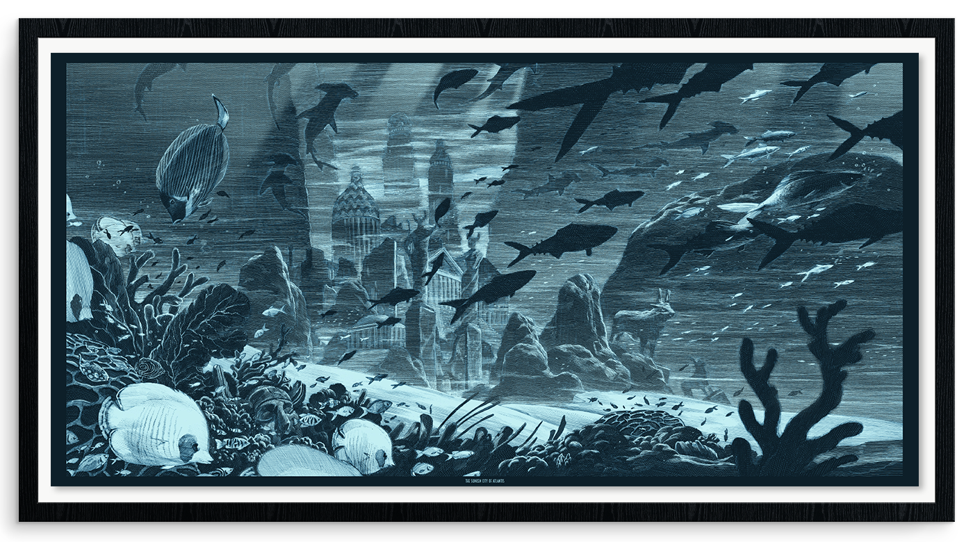 "Nicolas Delort, ""The Sunken City of Atlantis"""