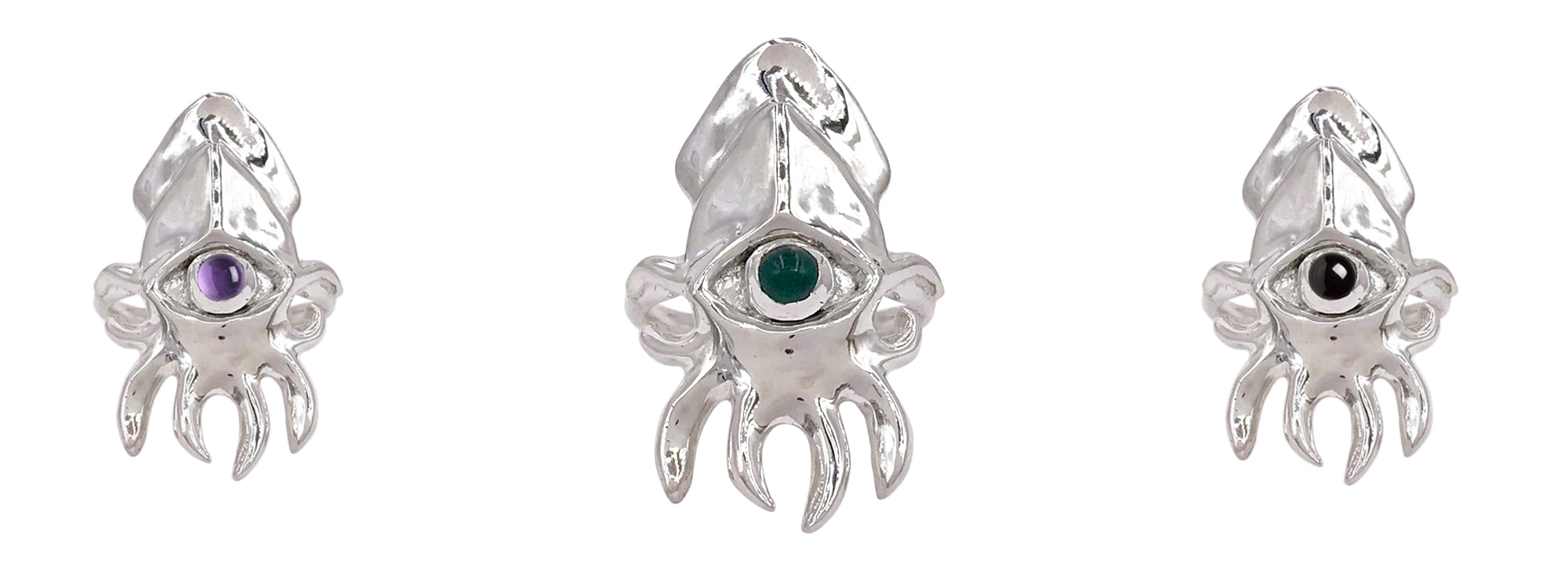 Oracle Squid Ring by Lauren YS x Morgan Patricia Designs