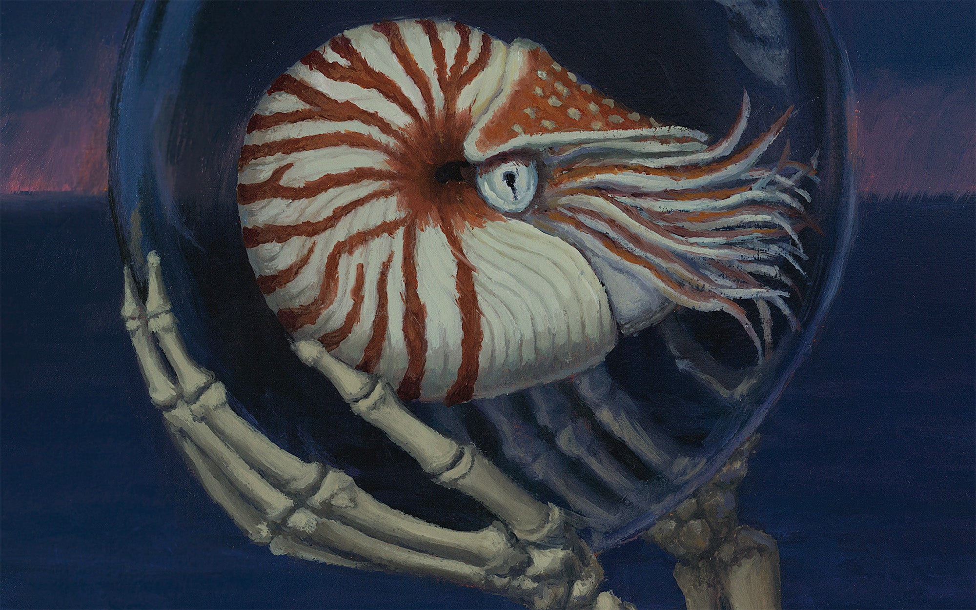 "Sandra Yagi, ""Death and Nautilus"""