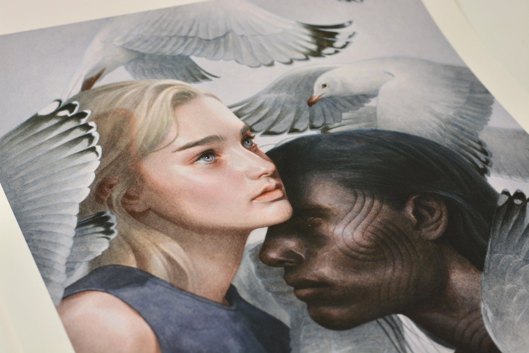 "Tran Nguyen, ""Miranda and Caliban"""
