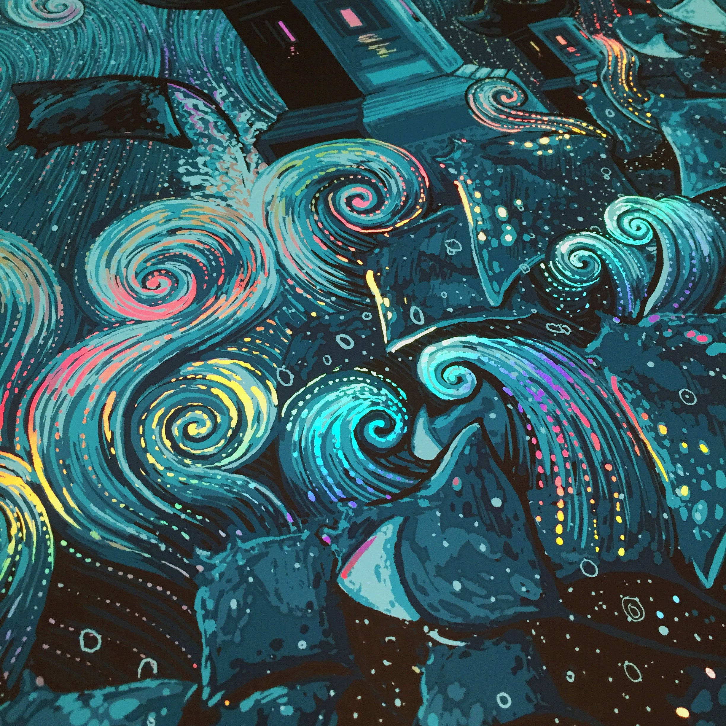 "James Eads, ""Mobulas in Dreamland"""