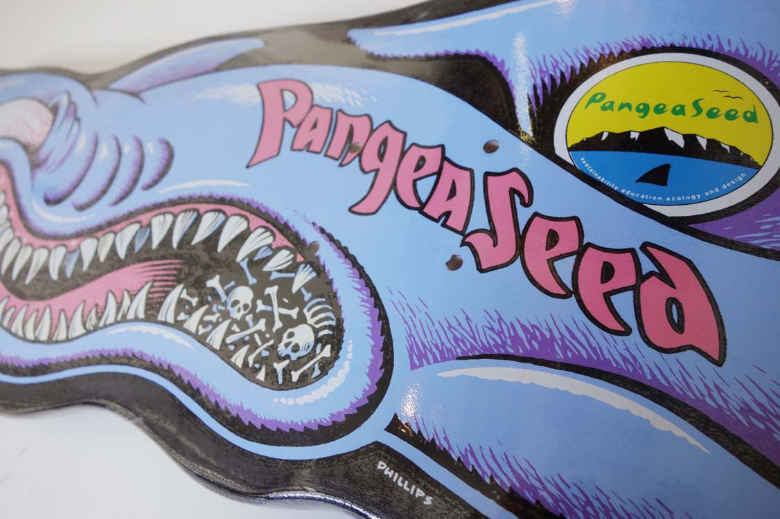 "Jim Phillips - ""Sharky Love"" Skate Deck"