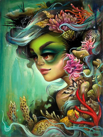 "Tatiana Suarez, ""Rainforests of the Sea"""